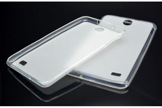 """Ультра-тонкая полимерная из мягкого качественного силикона задняя панель-чехол-накладка для планшета acer iconia talk 7 b1-723 3g 7.0"""" белая"""