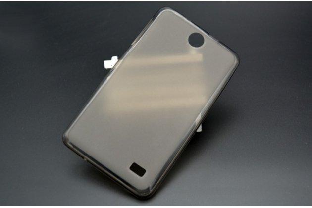 """Ультра-тонкая полимерная из мягкого качественного силикона задняя панель-чехол-накладка для планшета acer iconia talk 7 b1-723 3g 7.0"""" черная"""