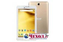 Фирменное защитное закалённое противоударное стекло премиум-класса из качественного японского материала с олеофобным покрытием для планшета Acer Iconia Talk 7 B1-723 3G 7.0