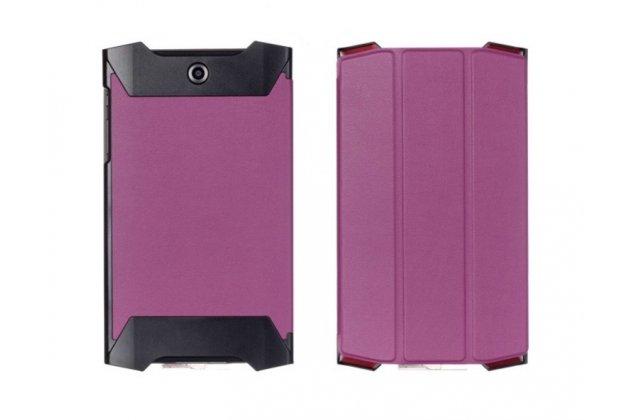 """Умный тонкий легкий чехол для acer predator 8 gt-810 """"il sottile"""" фиолетовый пластиковый"""
