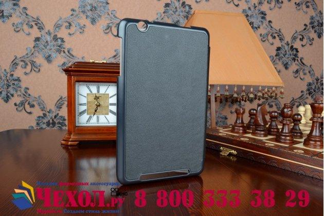 """Умный чехол самый тонкий в мире для планшета acer iconia one 8 b1-810/b1-811 """"il sottile"""" черный пластиковый"""
