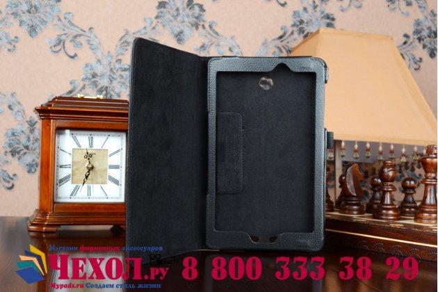 Чехол обложка для acer iconia tab 8 a1-840/a1-841 fhd черный кожаный