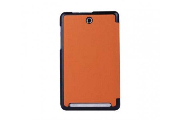 "Умный тонкий легкий чехол для acer iconia tab 8w w1-810/ w1-811 ""il sottile"" оранжевый пластиковый"