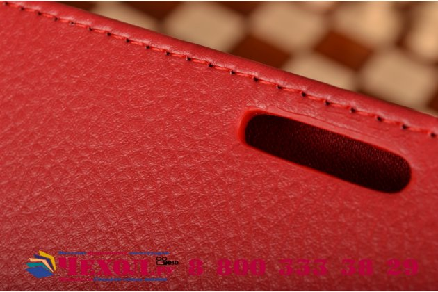 Чехол обложка для acer iconia tab a3-a20/a3-a20fhd-k76g красный кожаный