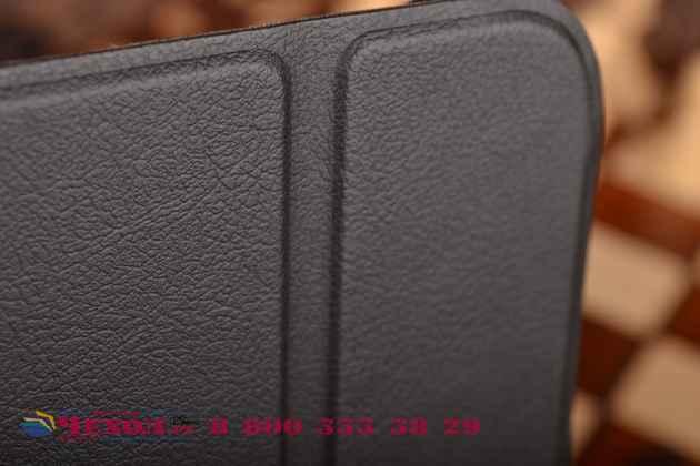 """Умный чехол самый тонкий в мире для acer iconia tab a3-a20fhd-k76g  """"il sottile"""" черный пластиковый"""