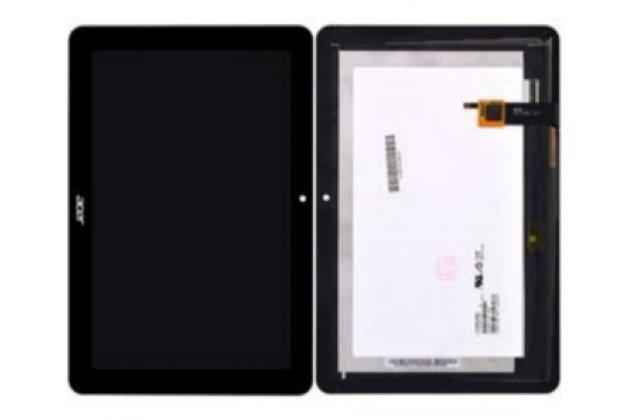 Lcd-жк-сенсорный дисплей-экран-стекло с тачскрином на планшет acer iconia tab a3-a20/a3-a21/a3-a20fhd черный и инструменты для вскрытия + гарантия