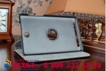 Чехол для планшета acer iconia tab 8w w1-810 поворотный роторный оборотный черный кожаный