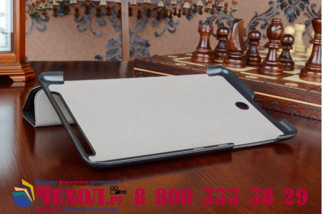 """Умный чехол самый тонкий в мире для acer iconia tab 8w w1-810  """"il sottile"""" черный пластиковый"""