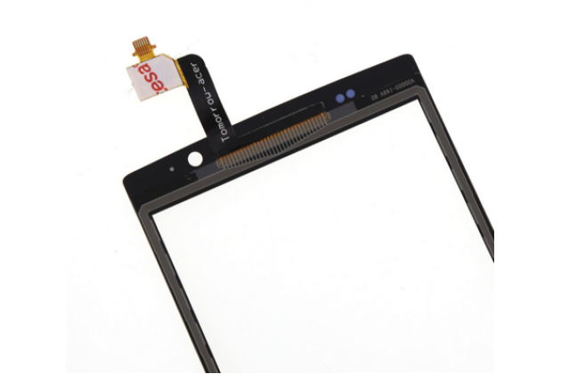 Сенсорное стекло-тачскрин для планшета acer iconia talk s a1-724 черный и инструменты для вскрытия + гарантия