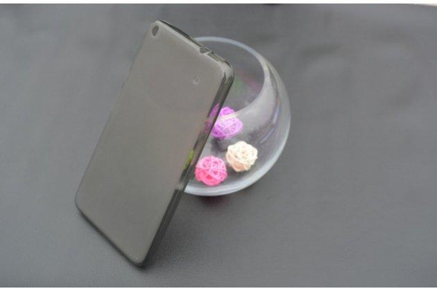"""Ультра-тонкая полимерная из мягкого качественного силикона задняя панель-чехол-накладка для планшета acer iconia talk s a1-724 (nt.l7zee.001 / q6yq) 7.0"""" черная"""