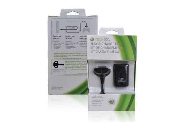 Usb - зарядное устройство от сети для геймпада microsoft xbox 360 / 360s slim / 360e / 360 pro wireless controller + аккумуляторная батарея 4800mah + гарантия