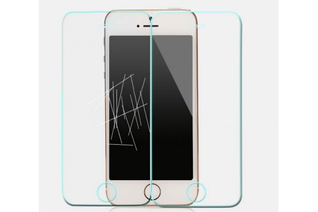Защитное закалённое противоударное стекло премиум-класса из качественного японского материала с олеофобным покрытием для alcatel one touch pop d3 4035d/x
