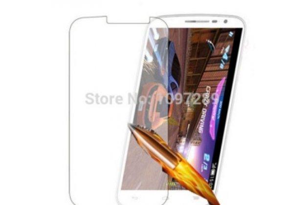 Защитное закалённое противоударное стекло премиум-класса из качественного японского материала с олеофобным покрытием для alcatel pop s9 7050y
