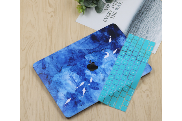 Ультра-тонкий пластиковый чехол-футляр-кейс для apple macbook air 11 early 2015 (mjvm2/ mjvp2) 11.6 / apple macbook air 11 early 2014 ( md711 / md712) 11.6 в комплекте с накладкой для клавиш ноутбука