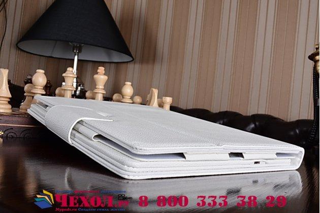 """Чехол со съёмной bluetooth-клавиатурой для  ipad pro 12.9"""" белый  кожаный + гарантия"""