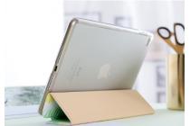 Чехол-обложка для ipad 2/3/4 new зеленый в полоску