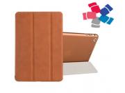 Чехол-обложка для iPad Mini SLIM коричневый кожаный..