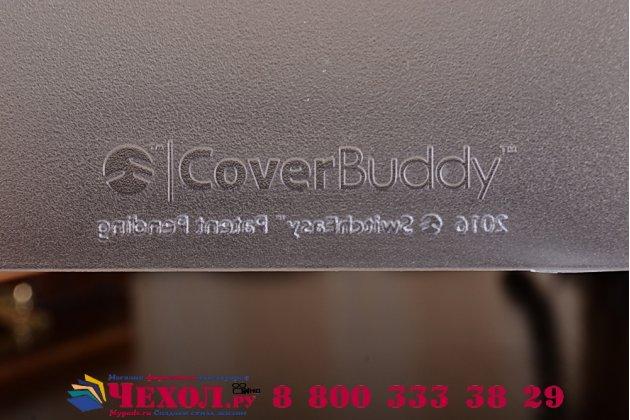 """Задняя панель-крышка-накладка из тончайшего и прочного пластика с отсеком / отделением под стилус для ipad pro 9.7""""  белая"""
