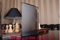"""Задняя панель-крышка-накладка из тончайшего и прочного пластика с отсеком / отделением под стилус для ipad pro 9.7""""  черная"""