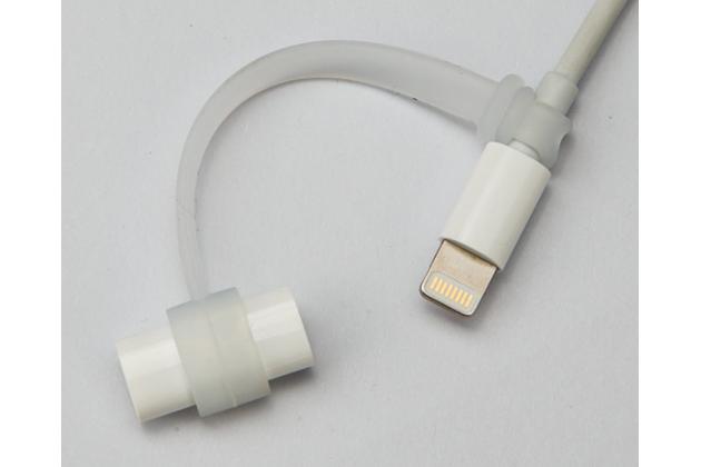 """Замена родного колпачка с креплением чтобы его не потерять для стилуса apple pencil  для ipad pro 9.7"""" / ipad pro 12.9"""""""