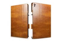 """Премиальный чехол бизнес класса для ipad pro 9.7"""" из качественной импортной кожи коричневый"""