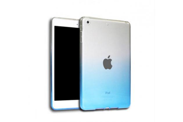 """Из тонкого и лёгкого пластика задняя панель-чехол-накладка для ipad pro 9.7"""" прозрачная с эффектом дождя"""