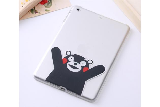 """Ультра-тонкая полимерная из мягкого качественного силикона задняя панель-чехол-накладка для ipad pro 9.7"""" тематика """"медведь"""""""