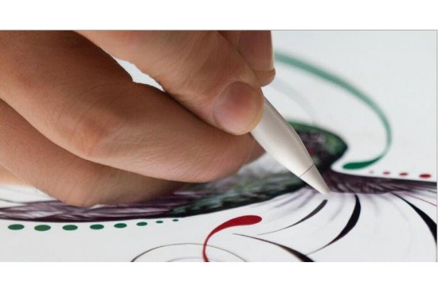 Стилус-перо-ручка apple pencil (mk0c2zm/a) для ipad pro 9.7 / ipad pro 12.9