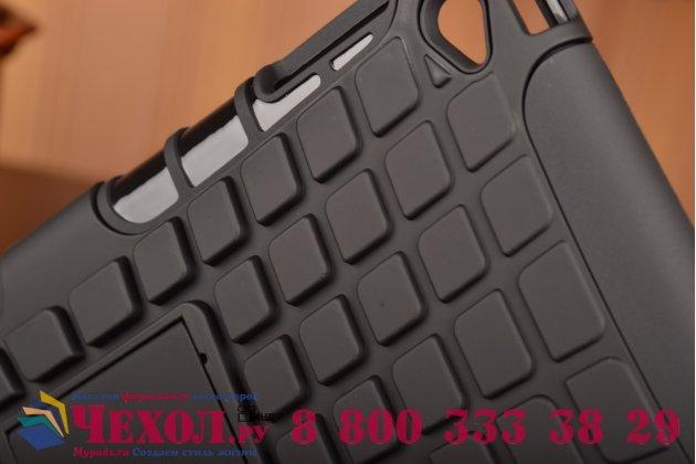 Противоударный усиленный ударопрочный чехол-бампер-пенал для ipad mini 4 черный