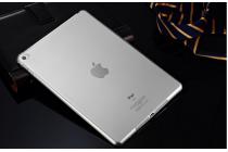 Ультра-тонкая полимерная из мягкого качественного силикона задняя панель-чехол-накладка для ipad mini 4 белая