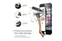 """3d защитное стекло которое полностью закрывает экран / дисплей по краям с олеофобным покрытием для iphone 6 4.7"""" черного цвета"""
