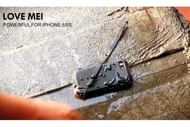 Неубиваемый водостойкий противоударный водонепроницаемый грязестойкий влагозащитный ударопрочный чехол-бампер для ipad mini 2 retina/ipad mini 3 цельно-металлический со стеклом gorilla glass