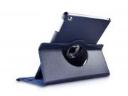 Чехол для планшета новый iPad 9.7 2017 поворотный роторный оборотный синий кожаный..