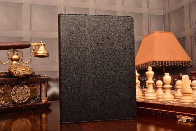 Чехол-сумка для ipad air 2 черный кожаный