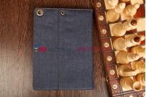Чехол для ipad air 1 md794/791/795/792785/788789796/793/987 ru/a из настоящей джинсы с кармашком под iphone