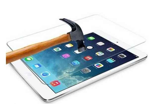 Защитное закалённое противоударное стекло премиум-класса из качественного японского материала с олеофобным покрытием для apple ipad air 1