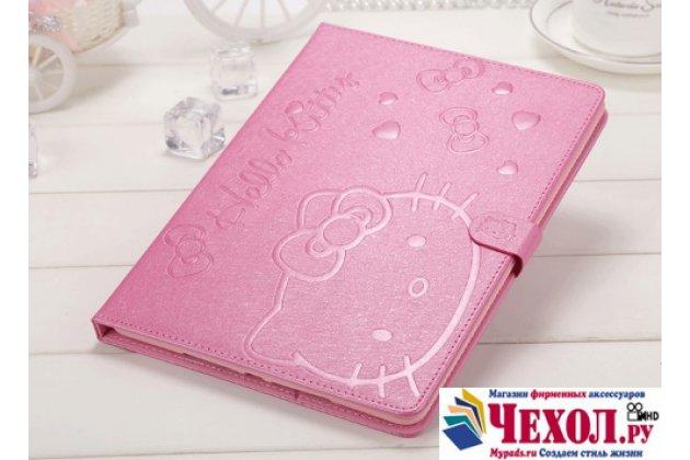 """Роскошный эксклюзивный чехол с объёмным рисунком """"hello kitty"""" розовый для  ipad mini 1/2/3 retina"""