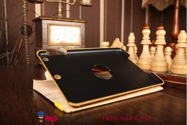 Чехол для ipad mini 2 with retina display кожа крокодила золотой. количество ограничено.