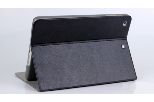 Чехол-футляр-книжка для ipad mini 2 with retina display черный кожаный