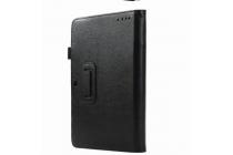 """Фирменный чехол для ASUS Transformer Book T100HA / Z8500 10.1"""" с отделением под клавиатуру черный кожаный"""