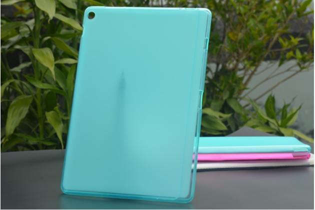Ультра-тонкая полимерная из мягкого качественного силикона задняя панель-чехол-накладка для asus zenpad 10 z300cg/z300cl/z300c/zd300cl/z300m голубая