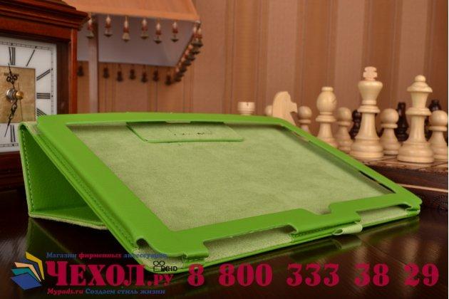 Чехол для asus zenpad 10 z300cg/z300cl/z300c/z300m зеленый кожаный