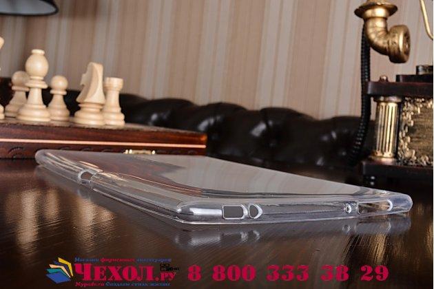 Ультра-тонкая полимерная из мягкого качественного силикона задняя панель-чехол-накладка для asus zenpad 10 z300cg/z300cl/z300c/zd300cl/z300m белая