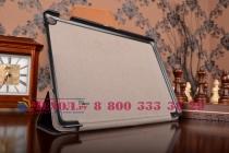 """Фирменный умный чехол самый тонкий в мире для планшета ASUS ZenPad 10 Z300CG/Z300CL/Z300C/Z300M """"Il Sottile"""" черный кожаный"""