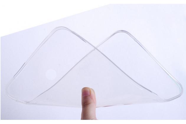 """Ультра-тонкая полимерная из мягкого качественного силикона задняя панель-чехол-накладка для asus fonepad 7 fe170cg (k012)"""" белая"""