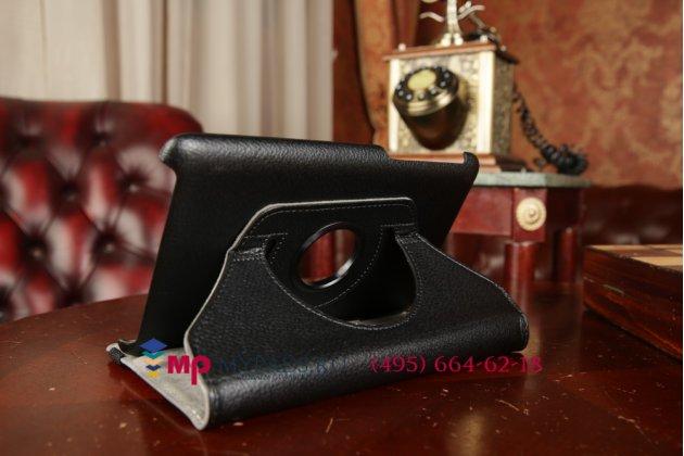 Чехол для asus fonepad 7 me372cg k00y поворотный роторный оборотный черный кожаный