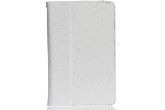 Чехол-обложка с подставкой для asus fonepad hd 7 me372cg белый кожаный