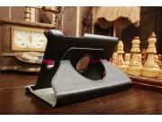 Фирменный чехол для Asus FonePad ME371MG поворотный роторный оборотный черный кожаный..