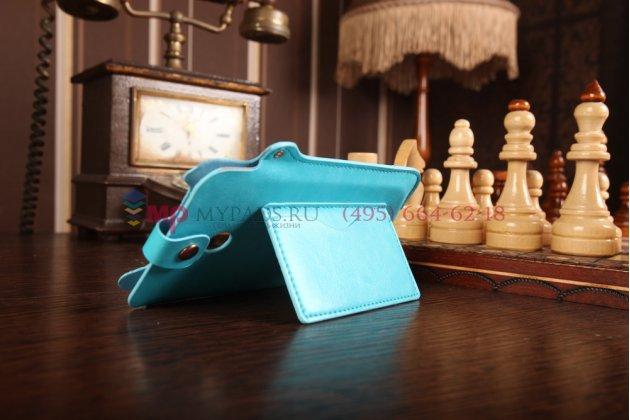 Чехол-футляр для asus fonepad note fhd 6 me560cg model k00g бирюзовый кожаный