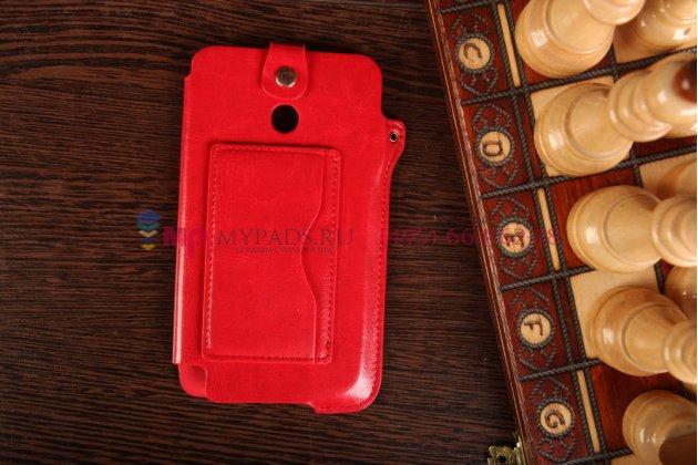 Чехол-футляр для asus fonepad note fhd 6 me560cg model k00g красный кожаный